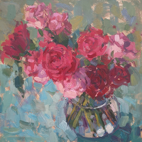 Roses in Pink (SOLD)