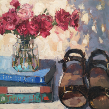 Sandals and Carnations