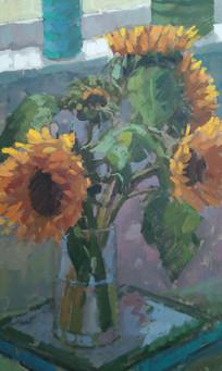 Sunflowers on a Rainy Day.jpg