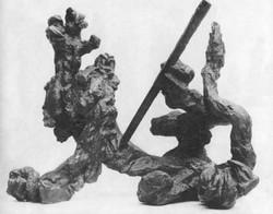 Impaled Lion, S. Hanzik, 1969