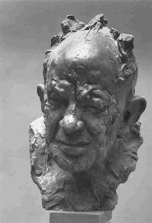 photographer Josef Sudek - sculptor Stanislav Hanzik