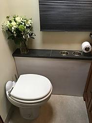 Clean Toilet Area