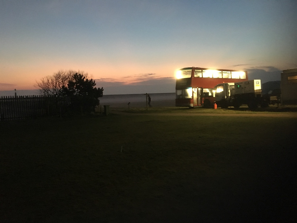 The Dining Bus at daybreak, Southern Film Services