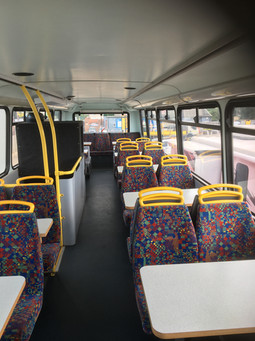 Dining Bus Top Deck