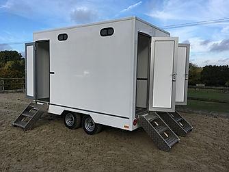 All New 3 Door Honey Wagon for Hire, Lon