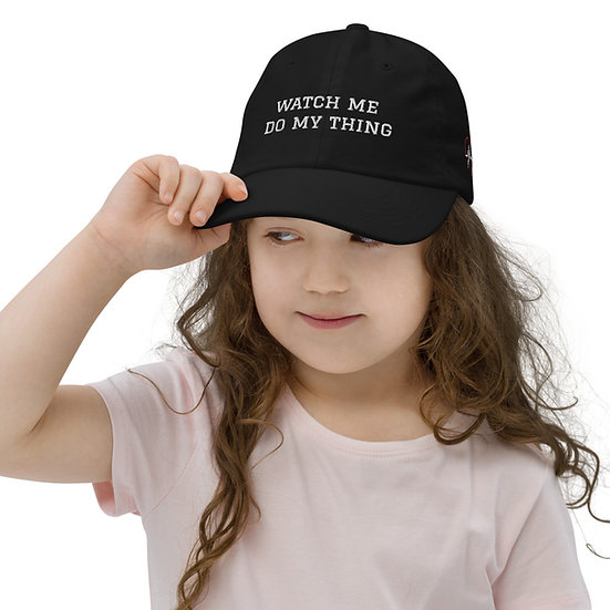 Watch Me (Youth cap)