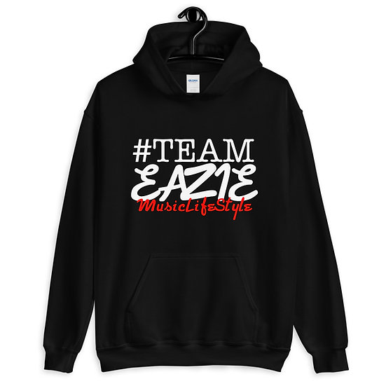 Team Eazie Blk Hoodie