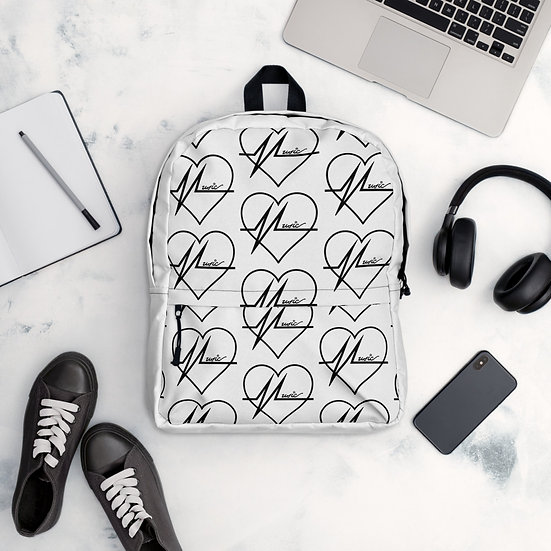 White MLS Backpack