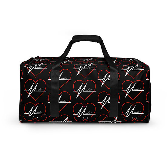 Music Heart Duffle bag