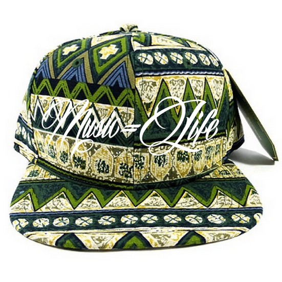 Aztec Green Dad Hat
