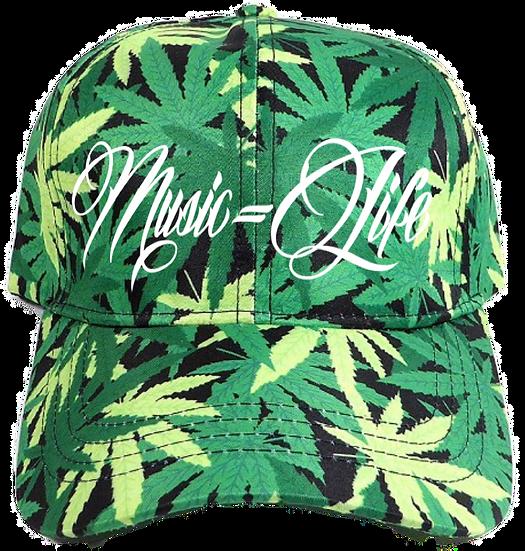 Weed Leaf Dad Hat