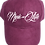 Thumbnail: Burgundy Suede Dad Hat