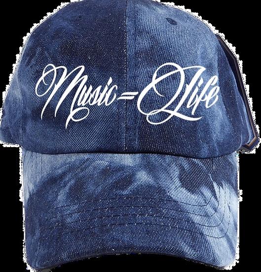 Jean Tie-Dye Dad Hat