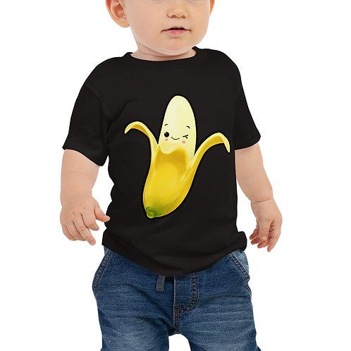 Baby Jersey Short Sleeve Tee - Banana