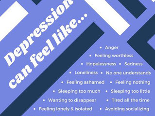 Mental Health Awareness Month: Depression