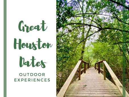 Great Outdoor Dates in Houston