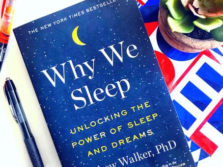 The Therapist's Shelf: Why We Sleep by Matthew Walker, PhD