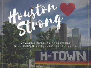 Houston Strong: An Update Following Hurricane Harvey
