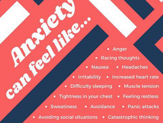 Mental Health Awareness Month: Anxiety