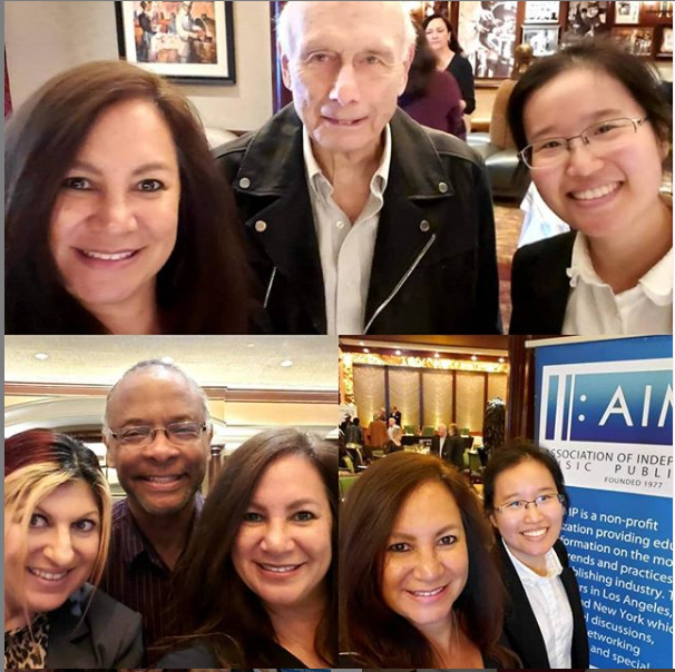 Our team's talented accountants Lynise and Tong at @aimporg with legendary #music #lawyer Jay Cooper, Esq. @gt_law, Garrett Johnson, Esq., and Anne Cecere @operagirl1 @bmi #cle #continuing #education