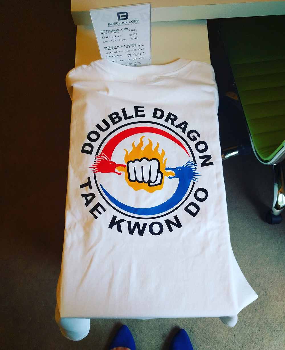 Double Dragon Tae Kwon Do Shirt
