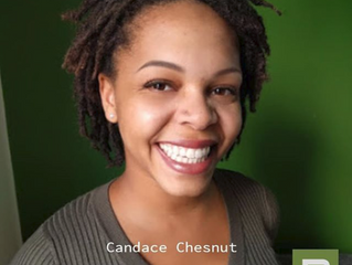 """Congrats to our talented star team member Candace Chesnut on being cast in a speaking role in """""""