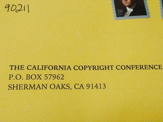 Just #voted for @cacopyrightconference officers and board