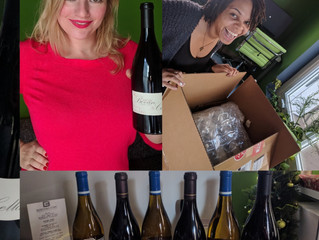 What a pleasant surprise! One of our wonderful clients sent us a box of wine. #HappyHolidays