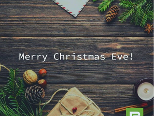 We hope you have a relaxing #Christmas #Eve!