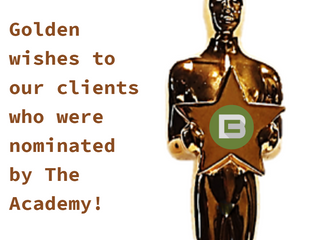 Golden wishes to our clients who were #nominated by @TheAcademy!  #oscars2018 ⠀ #Oscars #AcademyAwar
