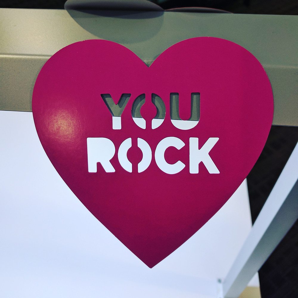 You Rock Valentine's Day Decoration Heart