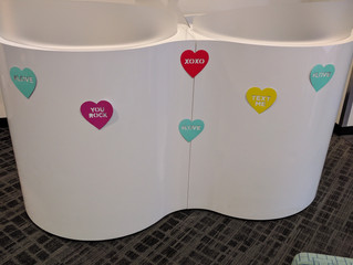 Valentine's Day at Boschan Corp.