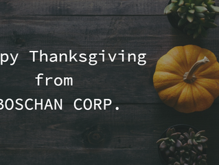 Wishing you and your family a wonderful Thanksgiving!
