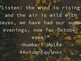A wonderful Autumn Equinox to you from your auditors at Boschan Corp!
