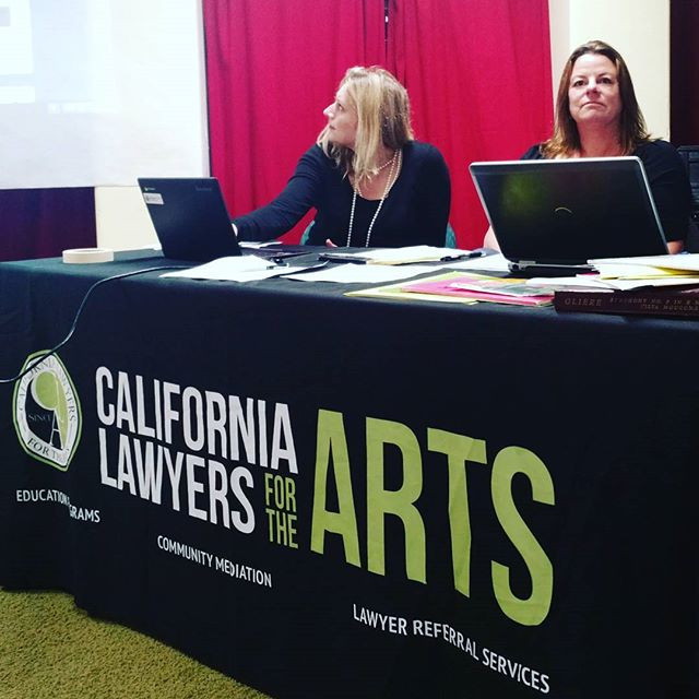 Cedar Boschan & Rachel Stilwell, Esq. Speak at California Lawyers for the Arts