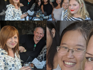 Celebrating Fred's & Marie's respective birthdays and welcoming Boschan Corp.'s newe
