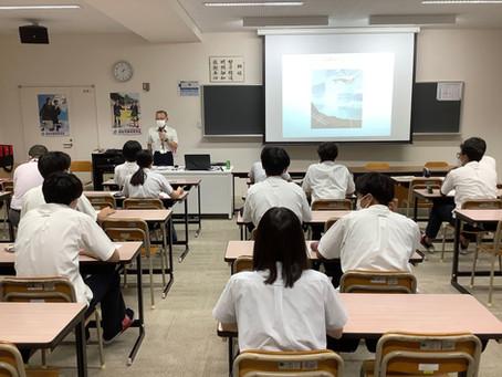 防災講演会 3年普通科キャリアデザインコース