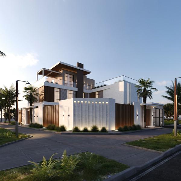 Saudi Arabi Villa