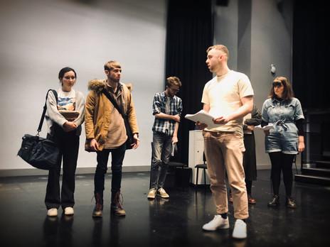 EDEN | Oscar & Ophelia arrive (rehearsal)