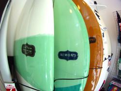almond surfboards