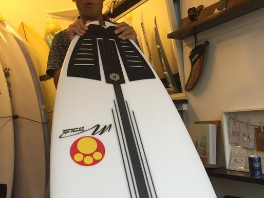 みんなのニューボード''MauriceCole''続々入荷と今日のサーフィンスクール