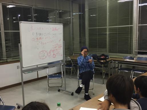 メンタル講座でメガネの話