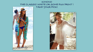 Stylish beachwear Coverups!