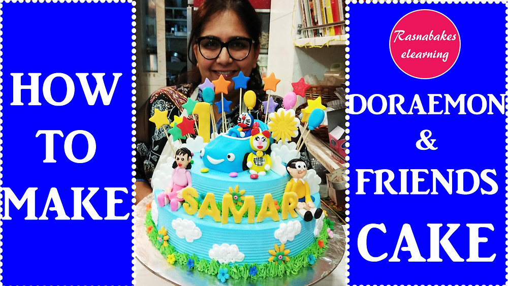 Doraemon cake for kids