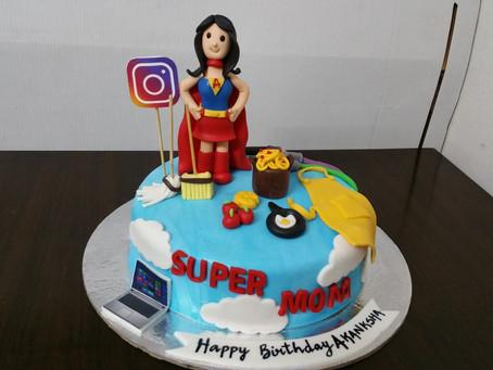 happy birthday mom cake design ideas