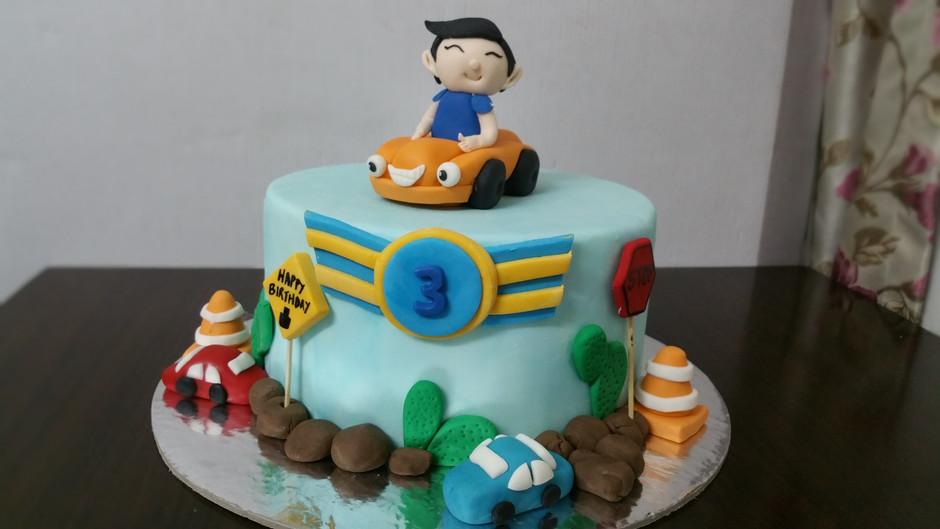 cake design for boys