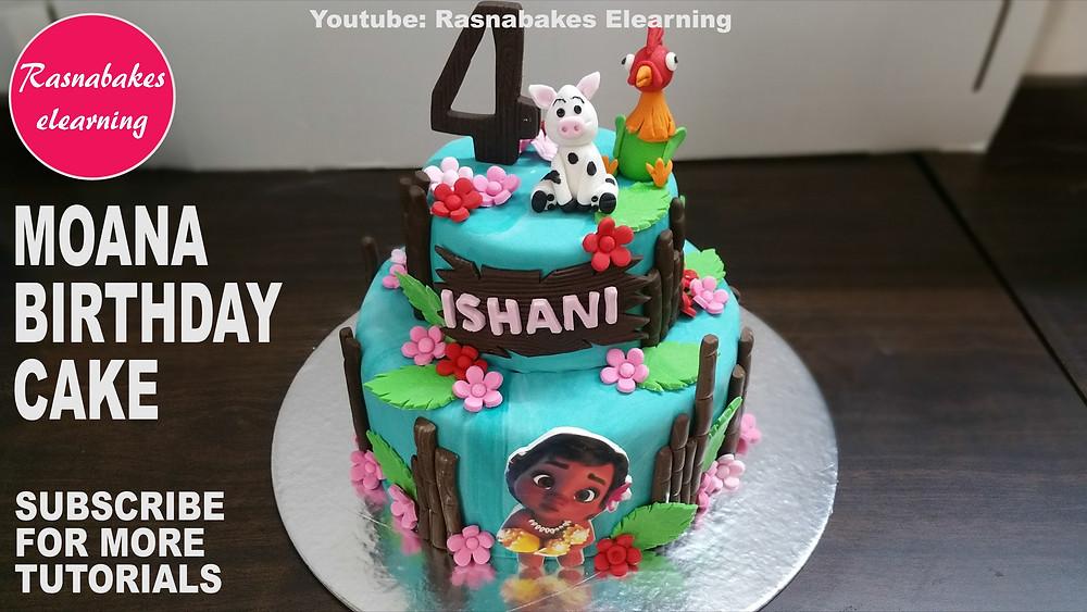 birthday cake for baby girl