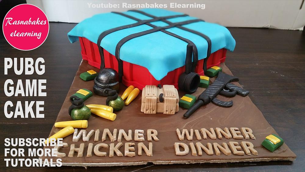 Pubg cake designs