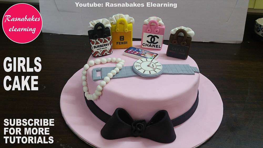 Happy birthday wife cake