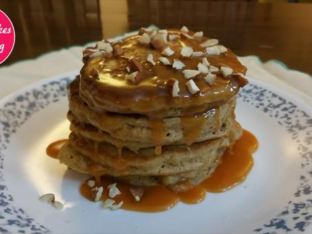 Recipe of oats pancake or Banana and oat pancakes easy
